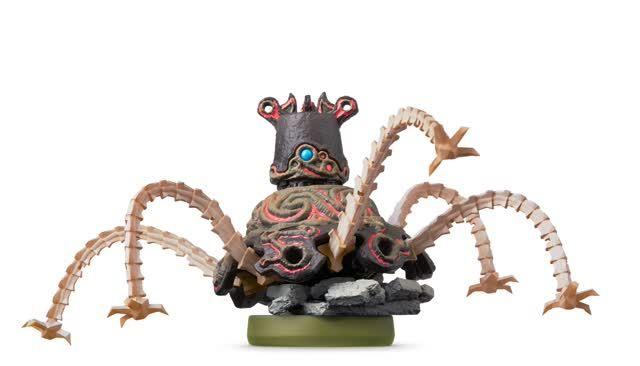 The Legend of Zelda Amiibo Figuur Guardian