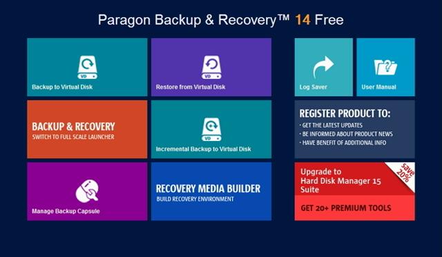Paragon Backup