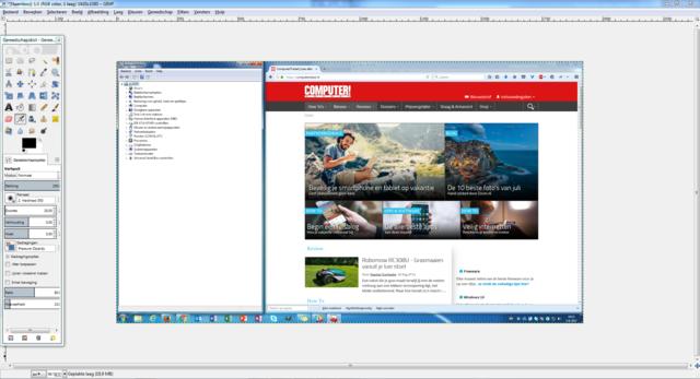 Windows-screenshot maken met Knipprogramma