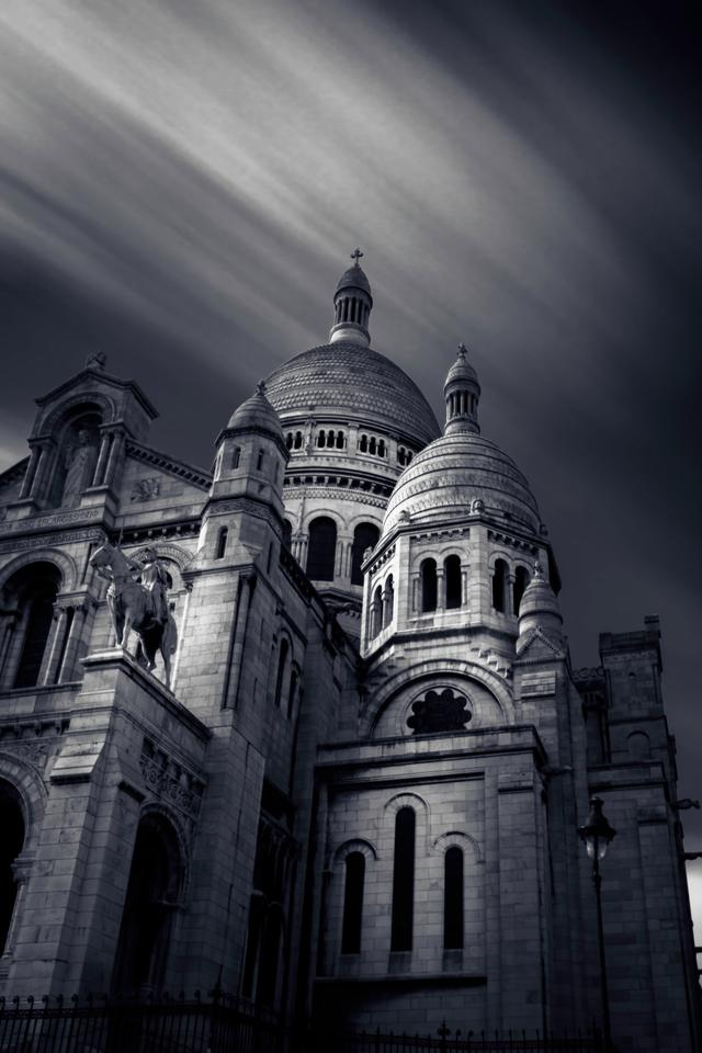 Beste zwart-witfoto's - Sacre Coeur