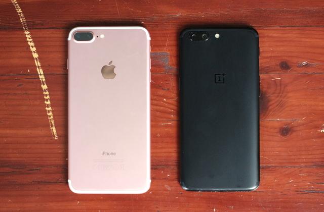OnePlus 5: iPhone-kloon
