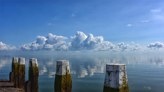 Beste weerfoto's: Windstil
