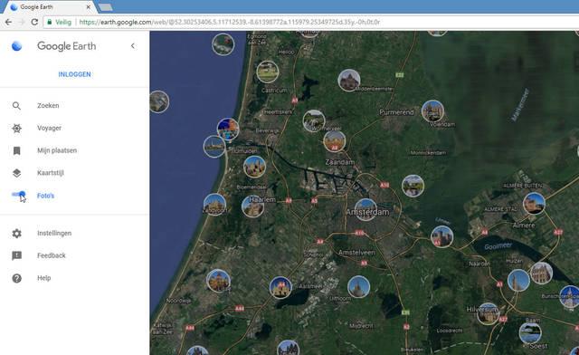Fotobolletjes in Google Earth maken het ontdekken van de wereld nog leuker
