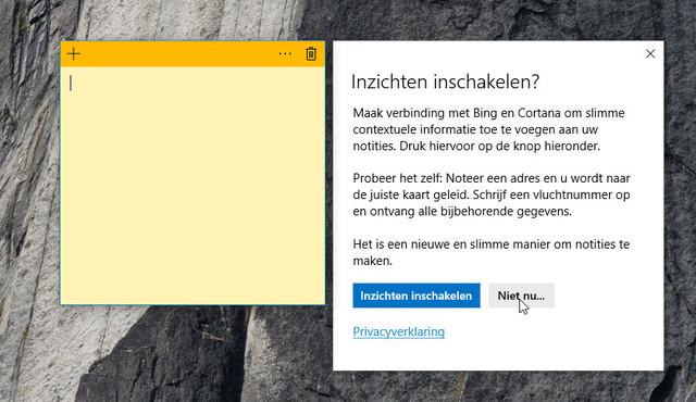 Microsoft ook mee laten lezen met notities hoeft wat ons betreft niet zo