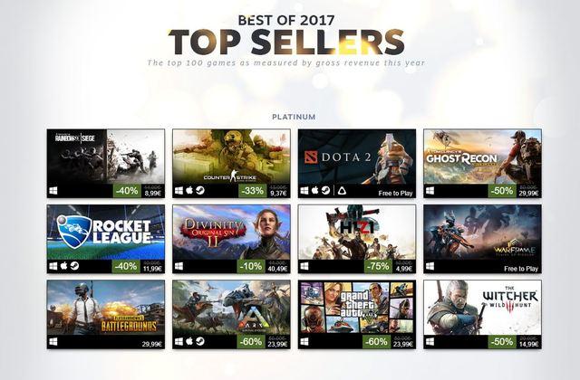 Steam Top Sellers
