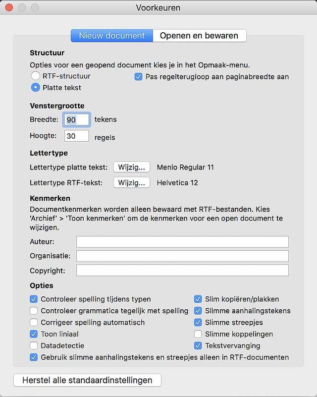 Zorg voor een snelle en pure teksteditor met deze setting