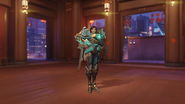 Qinglong Pharah Overwatch