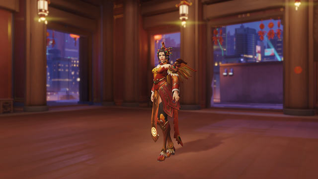 Zhuque Mercy Overwatch