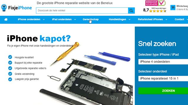 elektrische apparaten repareren