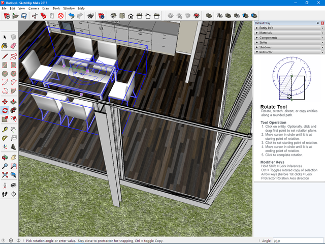 interieur design sketchup