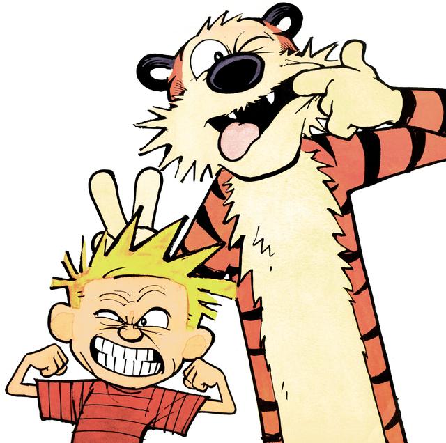 Calvin en Hobbes