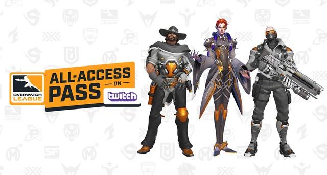 Overwatch League All-Access-pas