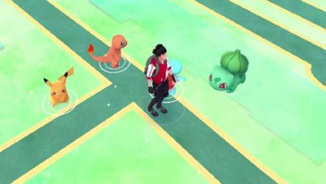 Pokémon Go starters