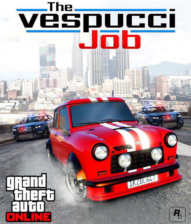 The Vespucci in GTA 5 Online