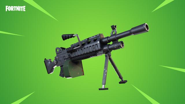 Fortnite Light Machine Gun