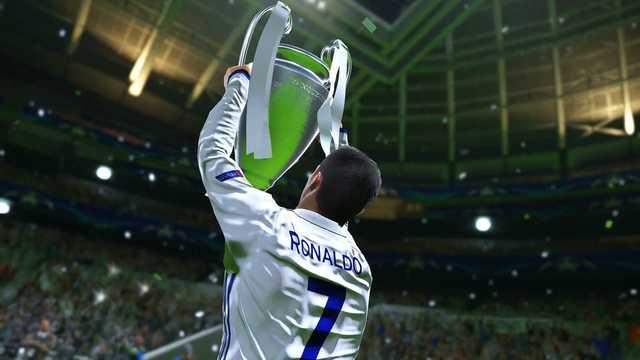 Champions league Ronaldo PES