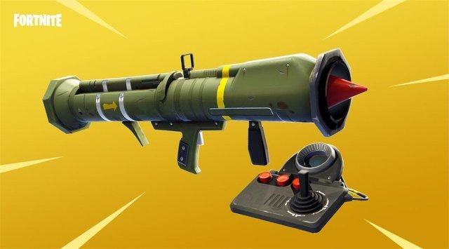 Fortnite Guided Missile