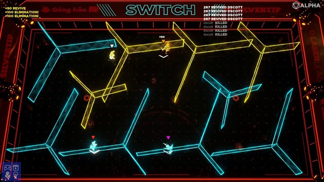 laser league futuristische sport game