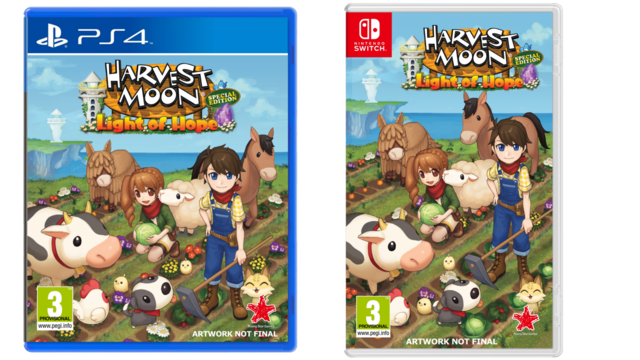 Harvest moon PS4 Switch