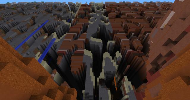 Farlands in Minecraft