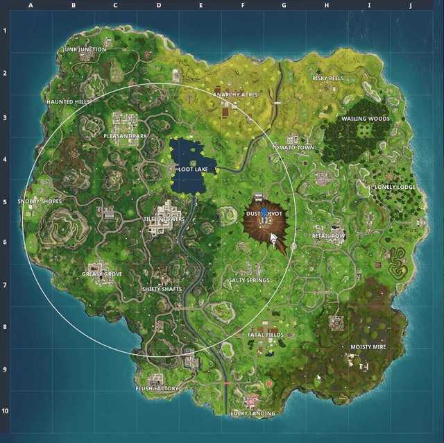 Fortnite S4 map