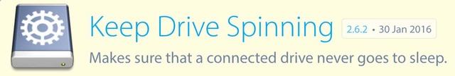 Keep drive spinning houdt je externe USB schijven wakker
