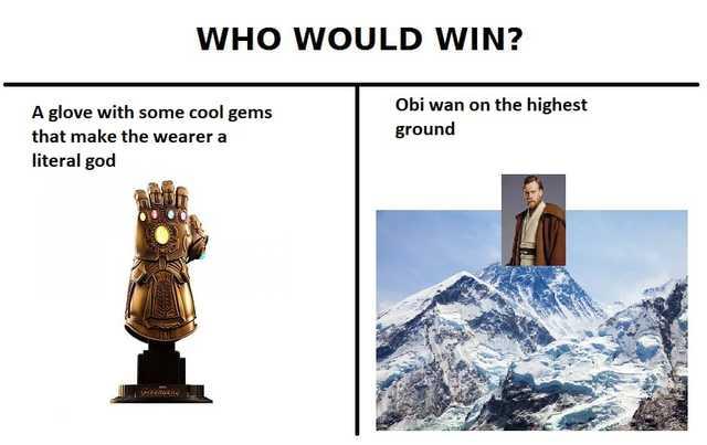 Thanos star wars