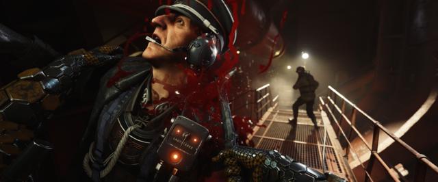 Wolfenstein II kill officer
