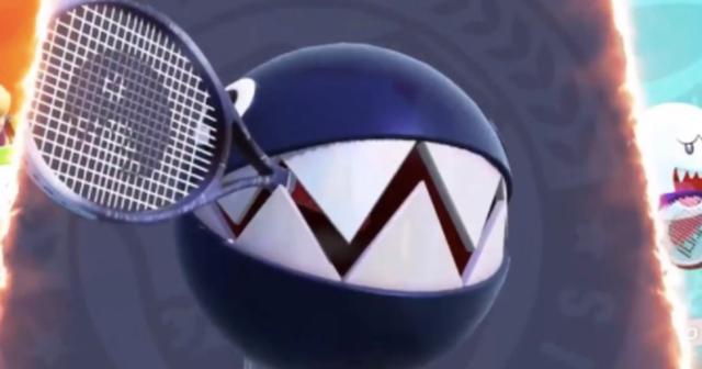 chain chomp mario tennis aces