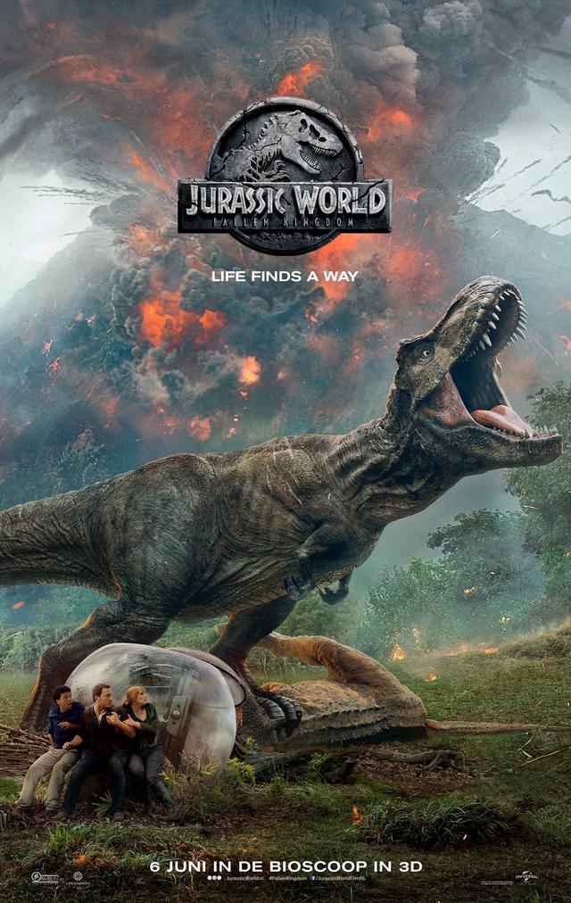 Jurassic World Fallen kingdom filmposter