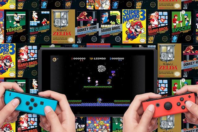 Nintendo Switch online service NES