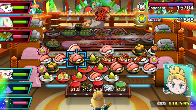 Sushi Strikers