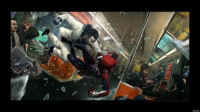 Spider-Man Concept Art