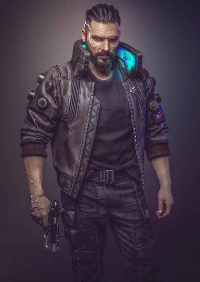 Hoofdpersoon V uit Cyberpunk 2077