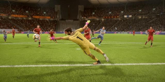 Fifa 18 doelman