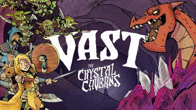 Vast the Crystal Caverns