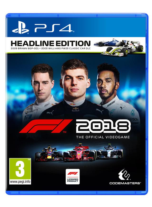 F1 2018 benelux versie