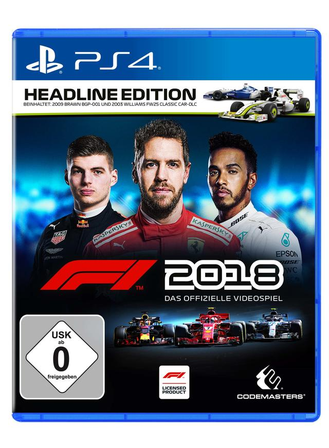 Duitse uitgave cover f1 2018