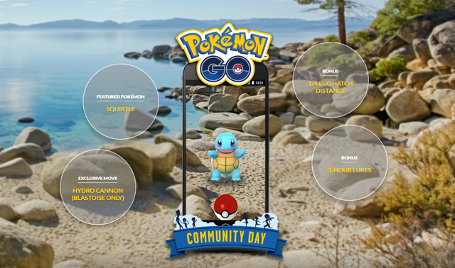 Squirtle Community Day