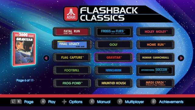 Atari flashback collection