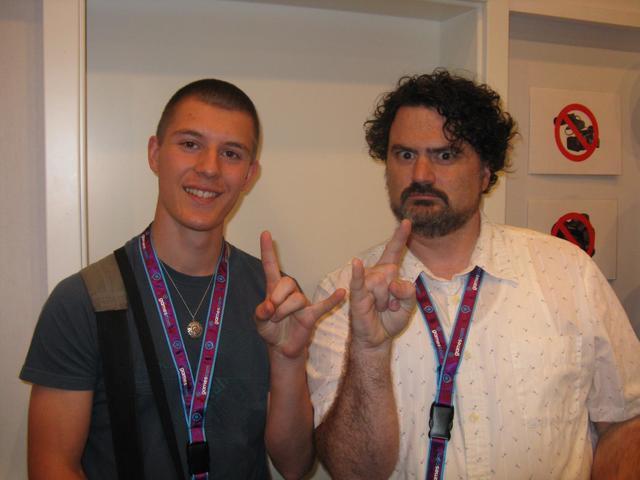 Jules ontmoet gamemaker Tim Schafer