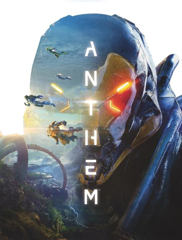 Anthem cover artbook