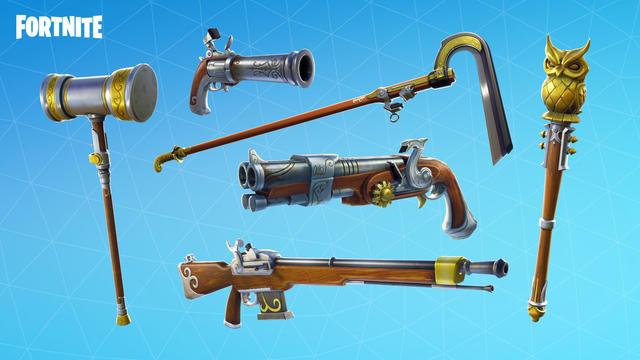 Flintlock weapon set