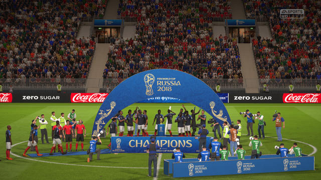 Frankrijk winnaar Fifa 18 World Cup