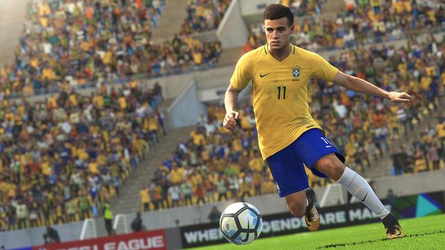 Phillipe Coutinho Brazilië Fifa 18