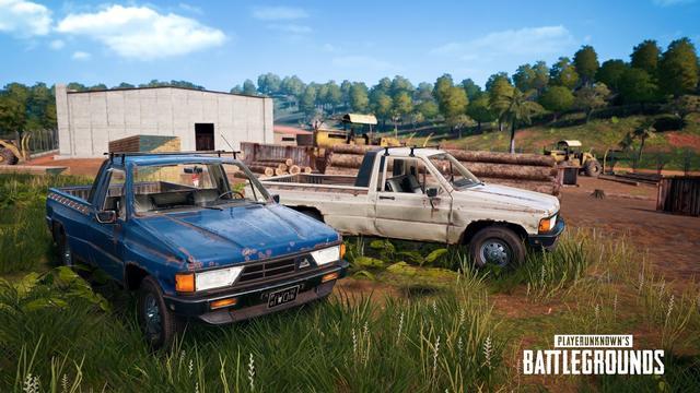 wapen en voertuig pc update PUBG