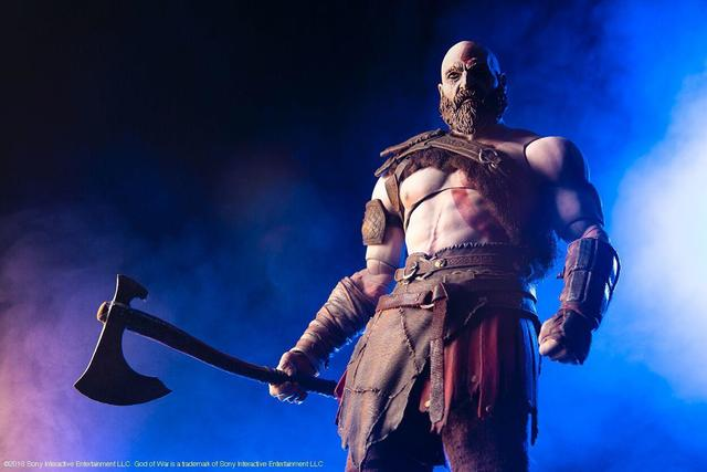 God of War figurine