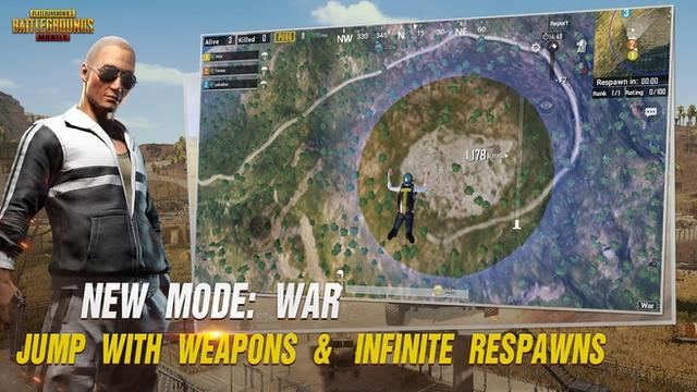 pubg war mode mobiel