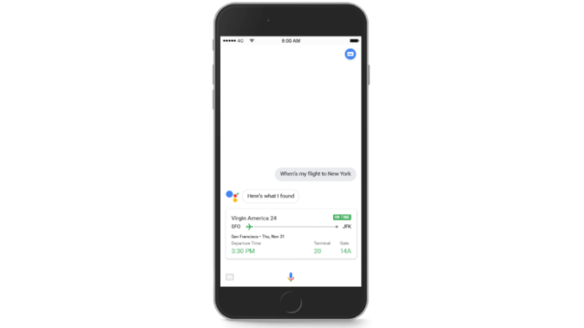 Google Assistant, Google, iphone