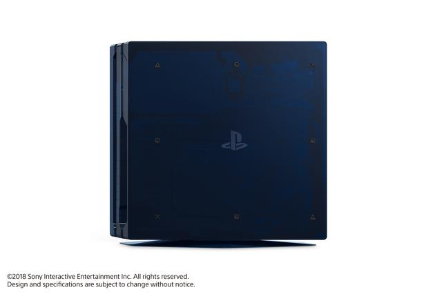 PS4 500 Million zijkant